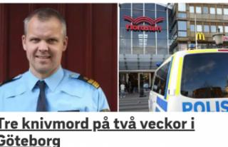 Göteborg'de iki haftada 3 kişi bıçaklanarak...