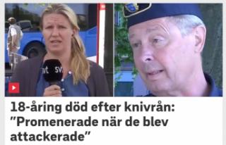 İsveç'te bir genç telefonu için bıçaklanarak...