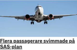 İsveç'ten Türkiye'ye giden uçakta 3...