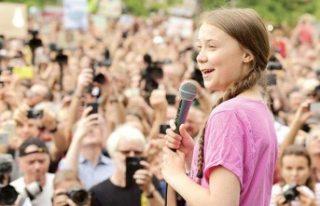 Dünyanın konuştuğu küçük İsveçli kız: 'Geleceğimiz...