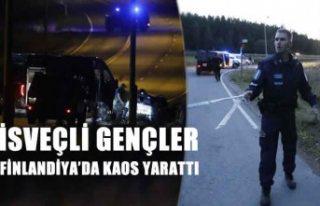 Finlandiya'da terör estiren İsveçliler tutuklandı