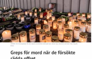 İsveç'te cinayet işlemekle suçlanan gençler...