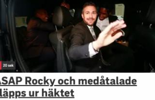 İsveç'te tutuklu Amerikalı şarkıcı serbest...