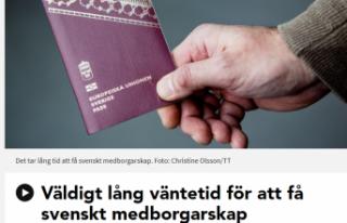 İsveç vatandaşlığına başvuranların bekleme...