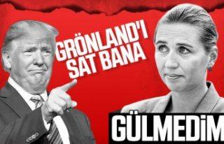 Trump Danimarka'nın Grönland adasını almak...