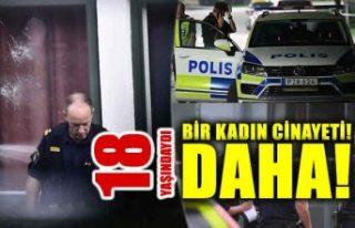 Vällingby'de 18 yaşında bir genç kız öldürüldü