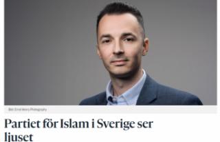 İsveç'te ilk kez kurulan Göçmen Partisi tartışmaları...