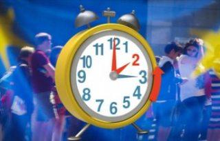 İsveç'te saatler 1 saat geri alınıyor
