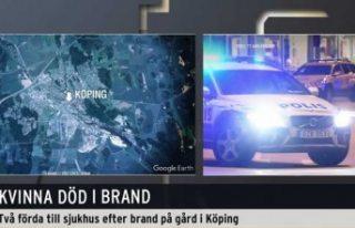 İsveç'te yangında bir kadın öldü