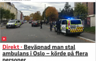 Norveç'te saldırganlar ambulans kaçırıp...