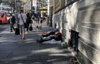 Sokakta ölen evsizlerin sayısında artış
