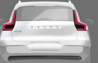 Volvo, Tamamen Elektrikli XC40 SUV Modelinin Tasarım...