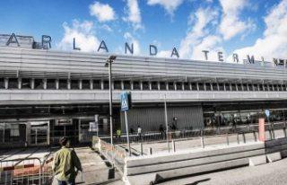 Arlanda Havalimanında akıl almaz olay
