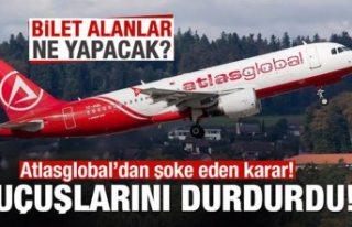 AtlasGlobal tüm uçuşlarını durdurdu! Bilet alanlar...