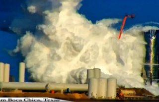 İnsanları uzaya götürecekti: SpaceX roketi, test...