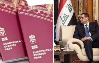 Irak Savunma Bakanı İsveç'te hastalık parası...