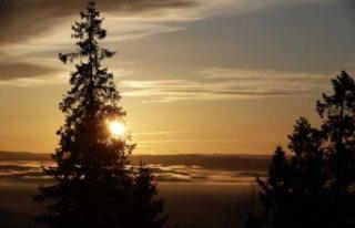 İsveç'in en kuzeyinde yılın son güneşi...