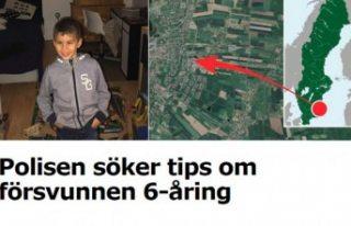 İsveç'te bir kayıp vakası daha - 6 yaşındaki...