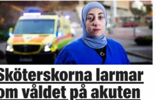 İsveç'te tehdit edilen Türk asıllı hemşire...