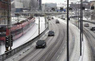 SMHI kar ve sert rüzgara karşı bir kez uyarıda...