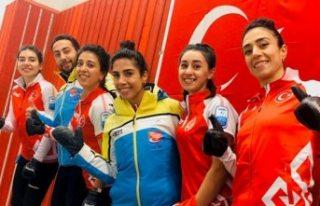 Spor Kadın Curling Milli Takımı, İsveç'te...