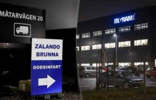 Dev firmanın İsveç'teki depolarında taciz...