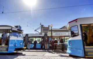 Batı İsveç'te toplu taşıma kontrolleri 4...