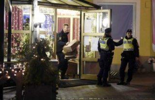 İsveç'teki restoran saldırısı videoları...