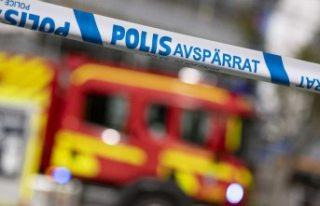 Stockholm'da çıkan yangında iki kişi hastaneye...
