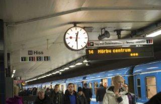 Stockholm'de evsizler güvenlik sorunu olarak...