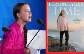 TIME 16 yaşındaki iklim aktivisti İsveçli Greta...