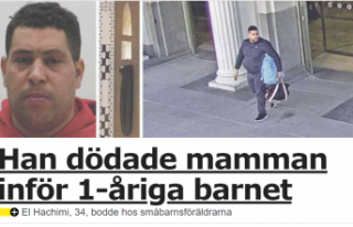 İsveç bebeğin yanında annesini öldüren bu caniyi...