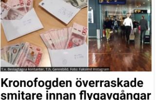 İsveç İcra Dairesi'nden havalimanlarına baskın