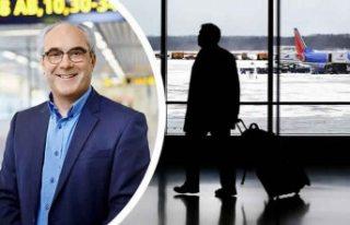 İsveç'in Malmö havalimanında yolcu sayısı...