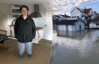 İsveç'te 20 evi su bastı. İsveçli genç...