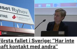 İsveç'te ilk kez yeni tip koronavirüs vakası...