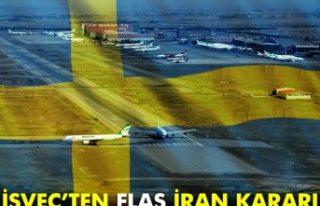 İsveç'ten flaş İran kararı