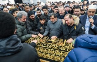 Norveç'te öldürülen Türk gencinin cenaze...