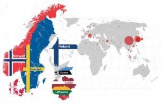İskandinavya ülkelerinde kaç koronavirüs vakası...