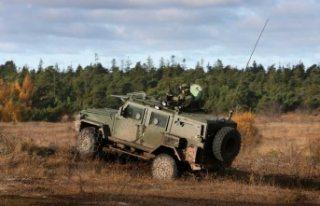 İsveç Silahlı Kuvvetler deposundan çalınan zırhlı...