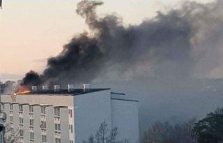 İsveç'te büyük yangın - Trenler transit...