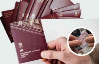 İsveç'te düzinelerce sahte pasaport, kimlik...