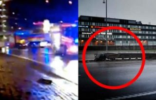 İsveç'te meydana gelen feci kazada 4 genç...