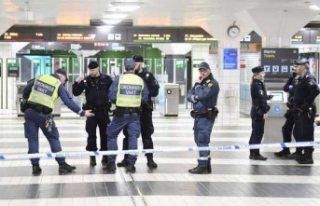 Stockholm T-Centralen'de bıçaklı kavga