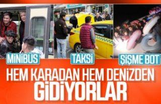 Türkiye'den Avrupa'ya mülteci akını