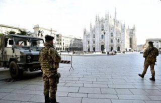 16 milyon kişinin karantinaya alındığı İtalya'da...