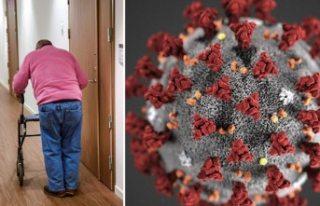 Coronavirüs nedeniyle yaşlı bakım evinde 2 kişi...