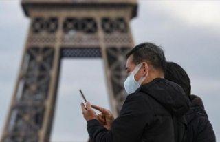 Fransa'da 24 saat içinde corona virüsten 186...