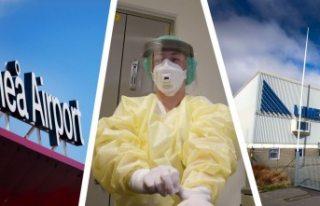 İsveç'te bir belediyeden koronavirüs duyurusu...