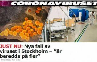 İsveç'te daha fazla vaka bekleniyor! Yeni sayı...